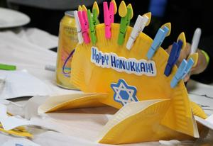 Photo of Hannukah craft made at