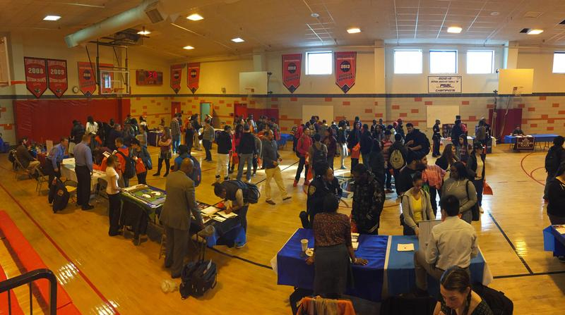 FLHFHS Students Explore Options at Annual College Fair Featured Photo