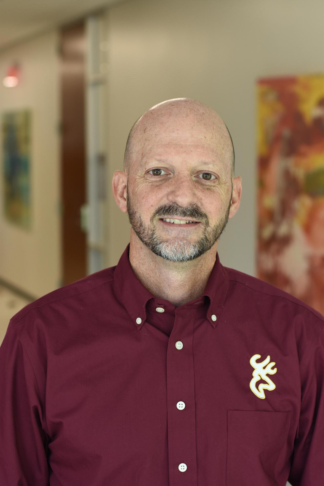 Head shot of DPHS South Campus Assistant Principal Donald Thompson