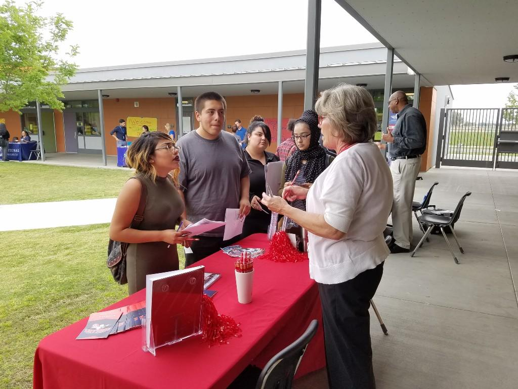 Bakersfield College TDS career fair