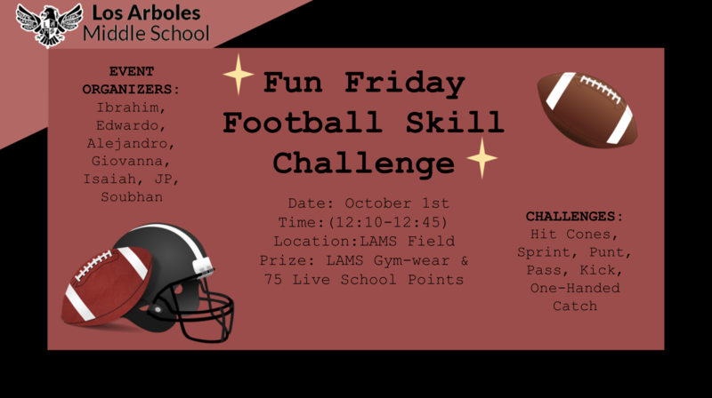 Students: Join Us for our First FUN FRIDAY! October 1st Featured Photo