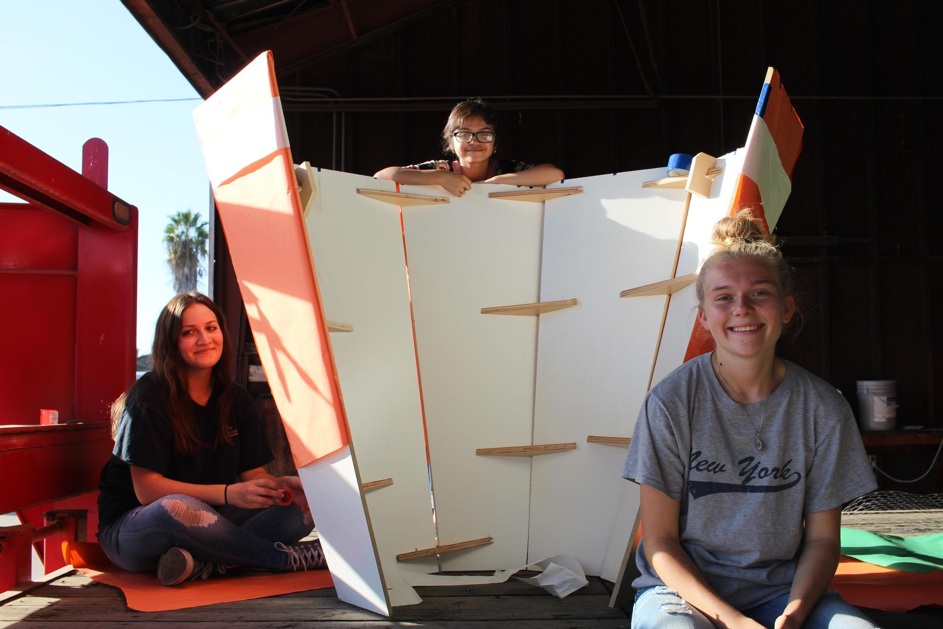 Float Building after school