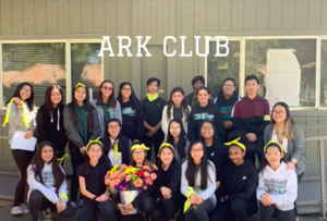A group shot of all the students in ARK (Acts of Random Kindness)