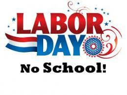 LABOR DAY HOLIDAY SEPTEMBER 3RD Thumbnail Image