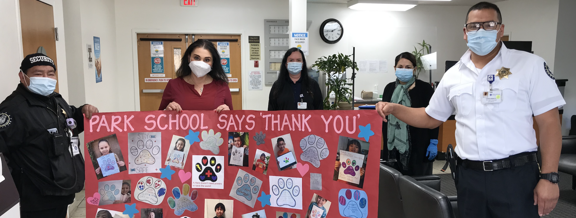 Thank you Monterey Park Hospital Healthcare Workers!
