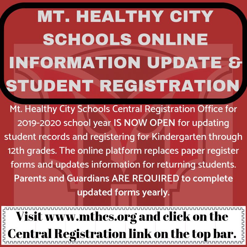 Online Student Update graphic