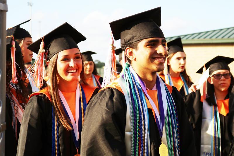 LPHS graduation ceremony