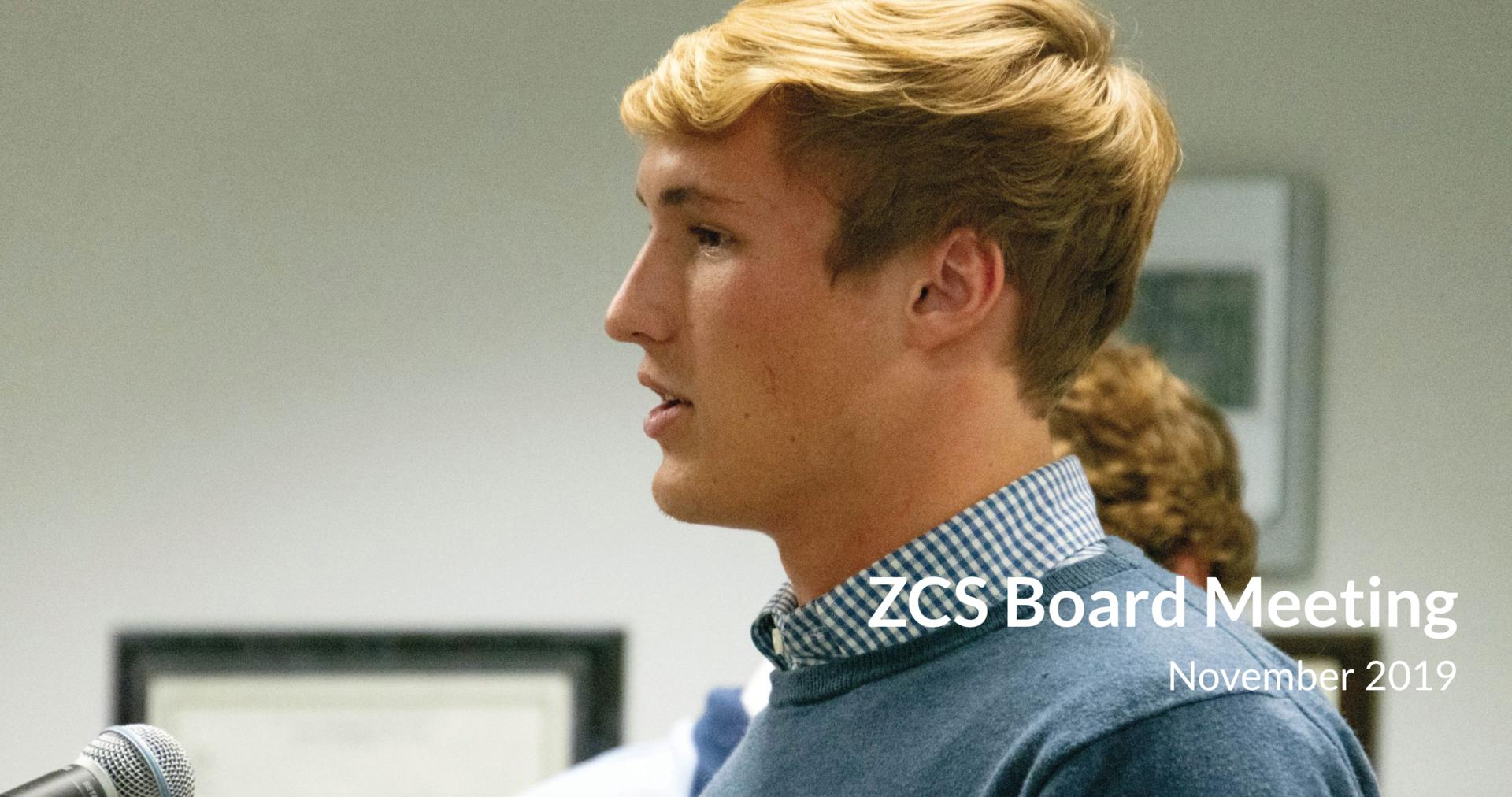 Board Update November 2019