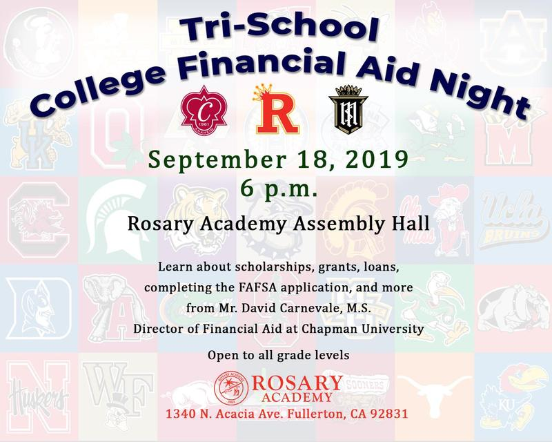 Tri-School College Financial Aid Night Featured Photo