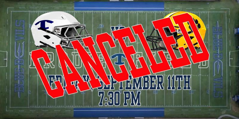Department of Public Health Cancels Tonight's Football Game Against Valdosta Featured Photo