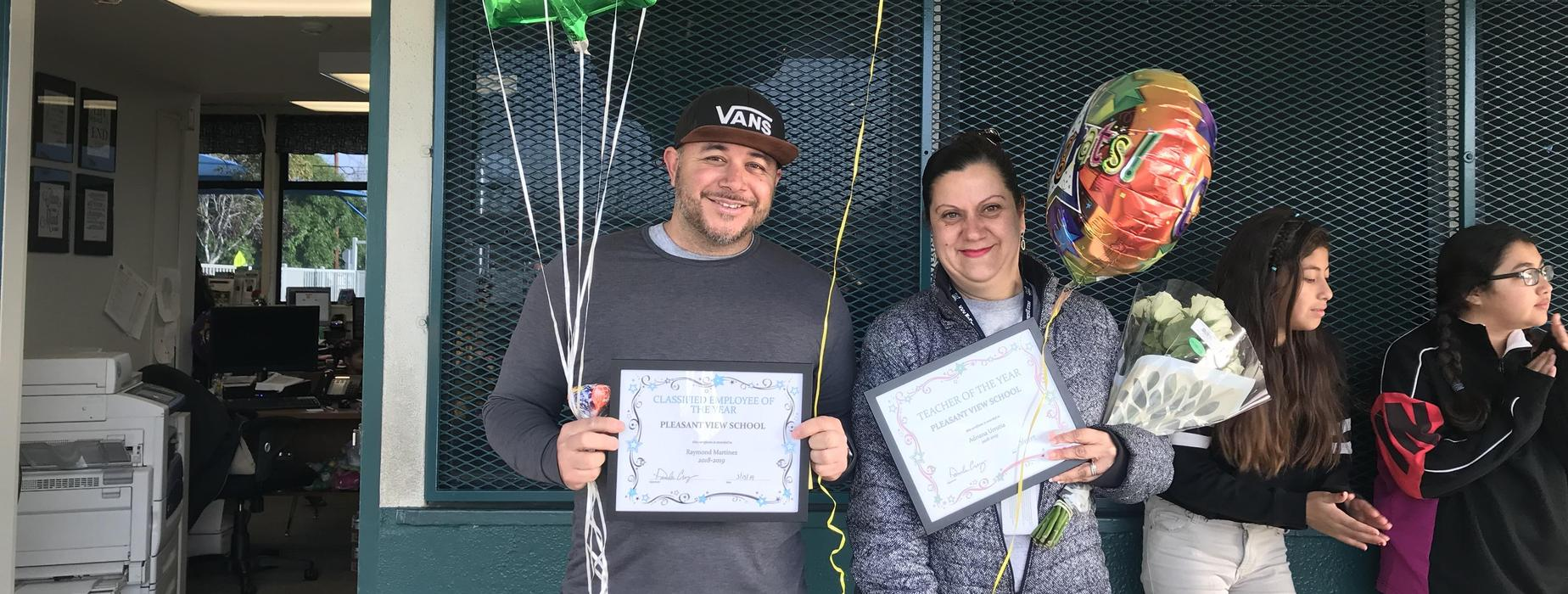 Classified and Certified Staff Members of the Year