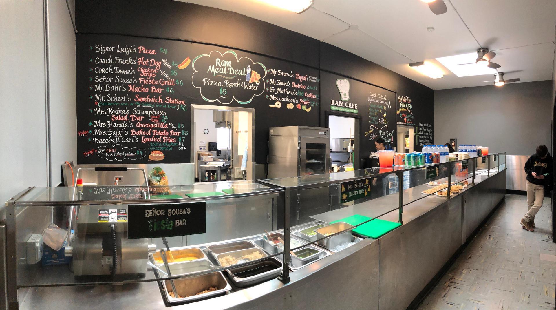 Ram cafeteria
