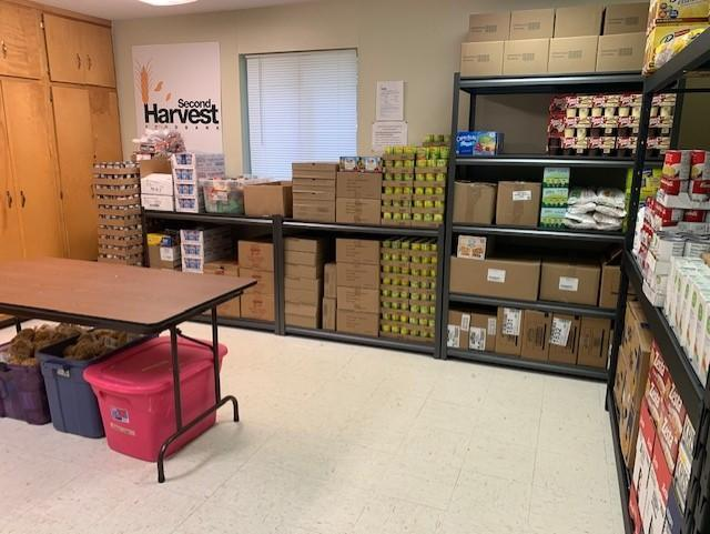 Thanks to Second Harvest of East TN we send home 225 weekend food bags with our students every Friday.