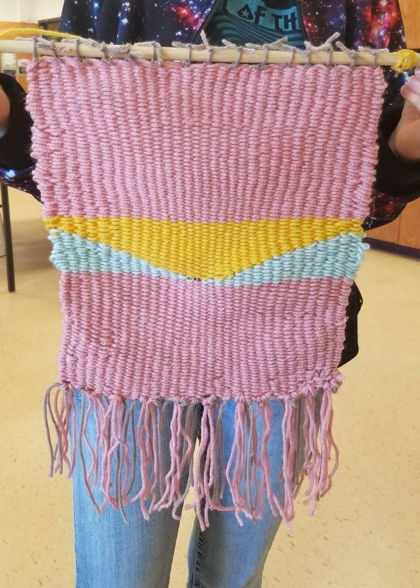 Weaving by: Hailey Mcloud