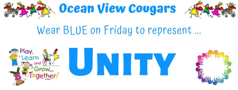Wear Blue on Friday
