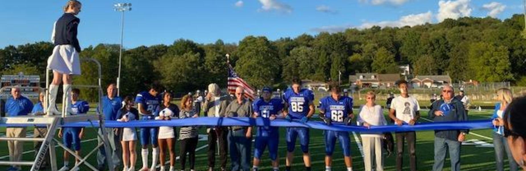 Ribbon Cutting Ceremony - Leechburg's Veterans Field September 10, 2021