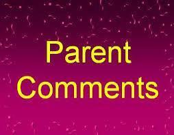 Parent Comment/Conerns Featured Photo