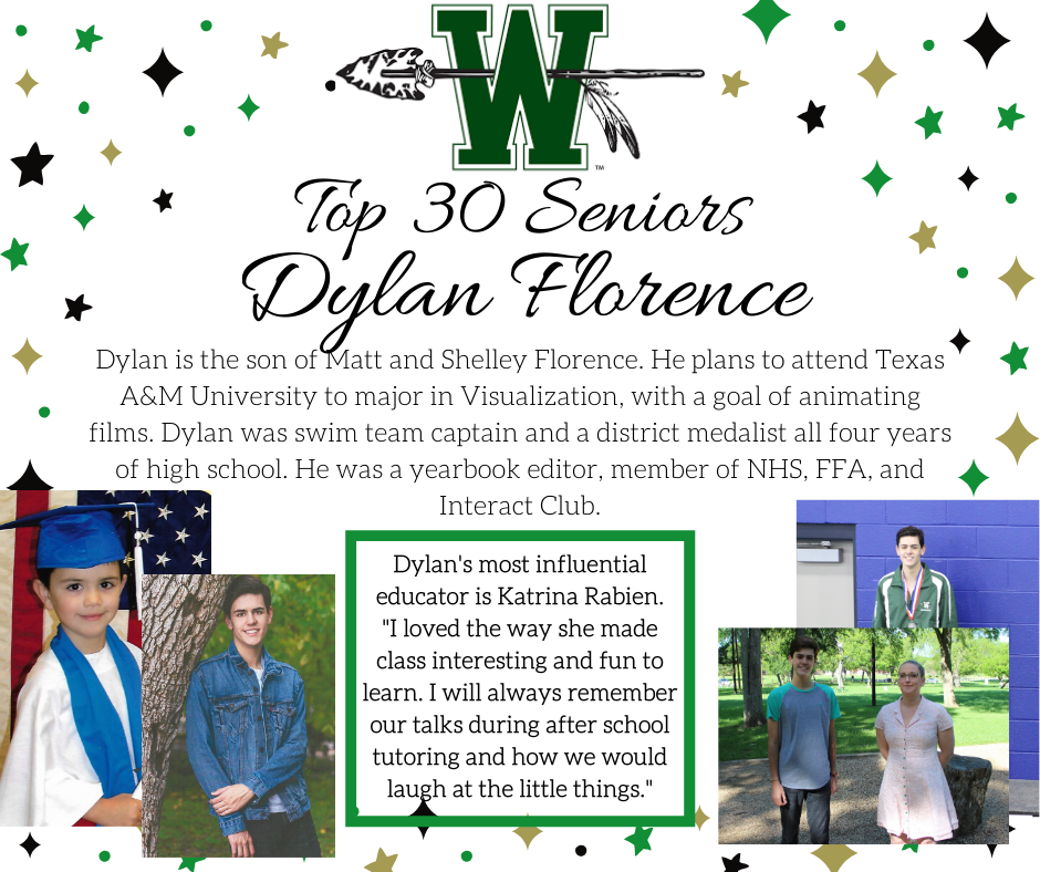 graphic of dylan florence
