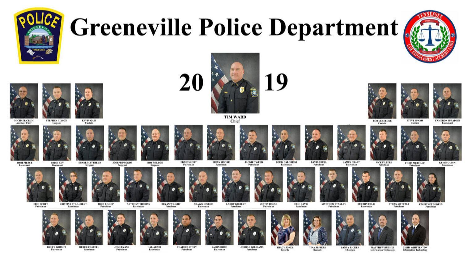 Collage Of All Police Department Employees
