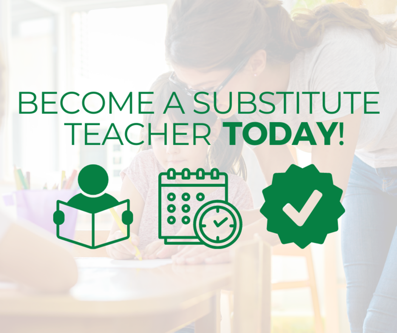 Become a Substitute Teacher Today! Featured Photo
