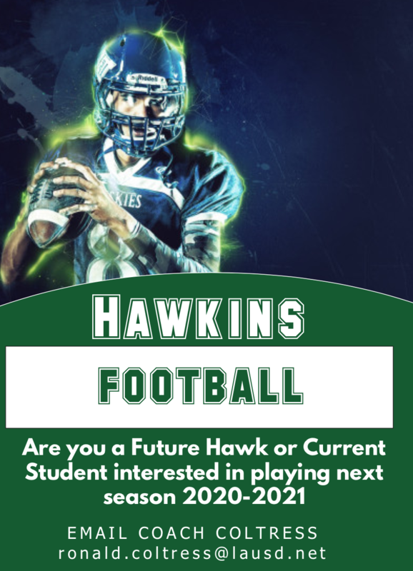 Hawkins Football 2020-2021 Featured Photo