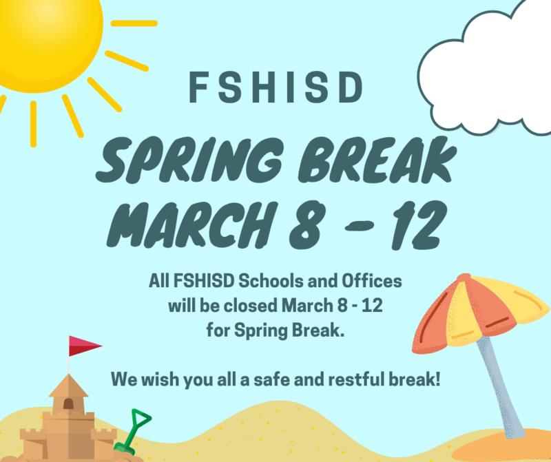 Spring Break Reminder