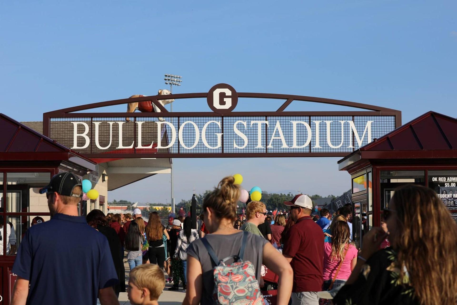 bulldog stadium entrance