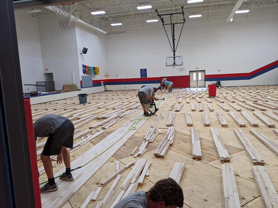 Elementary Gym Floor