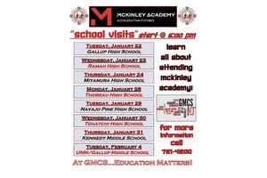 MA presentations schedule