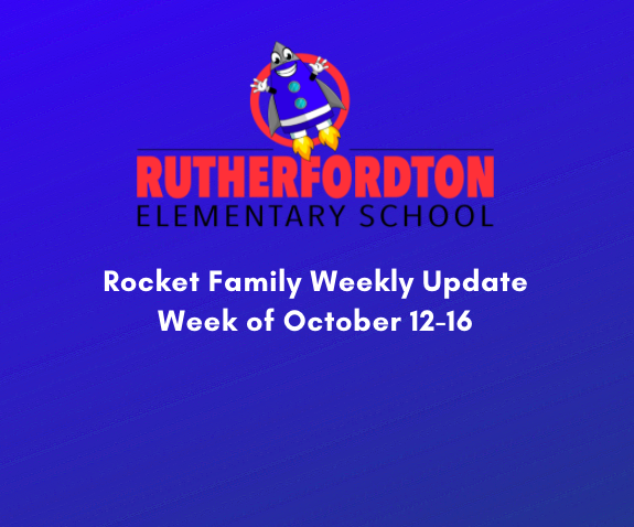 Rocket Family Newsletter - Week of October 12-16 Featured Photo