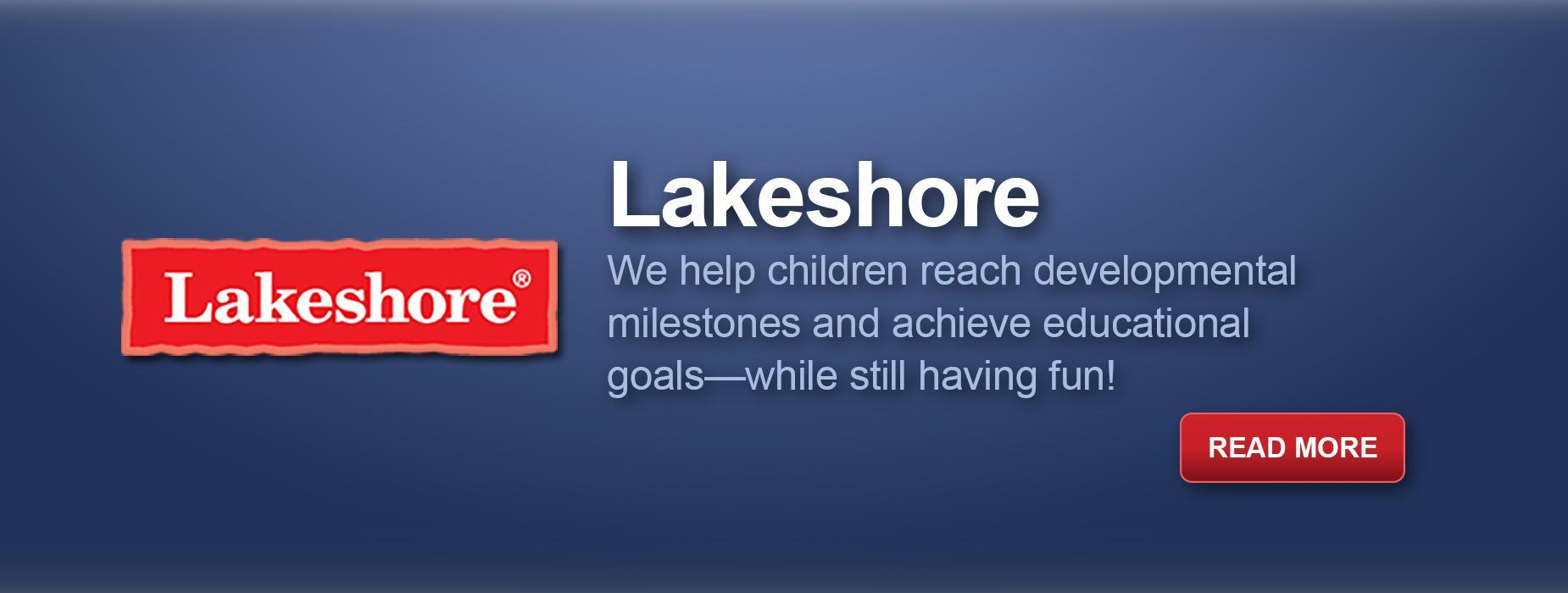 Lakeshore Learning Materials, Read More
