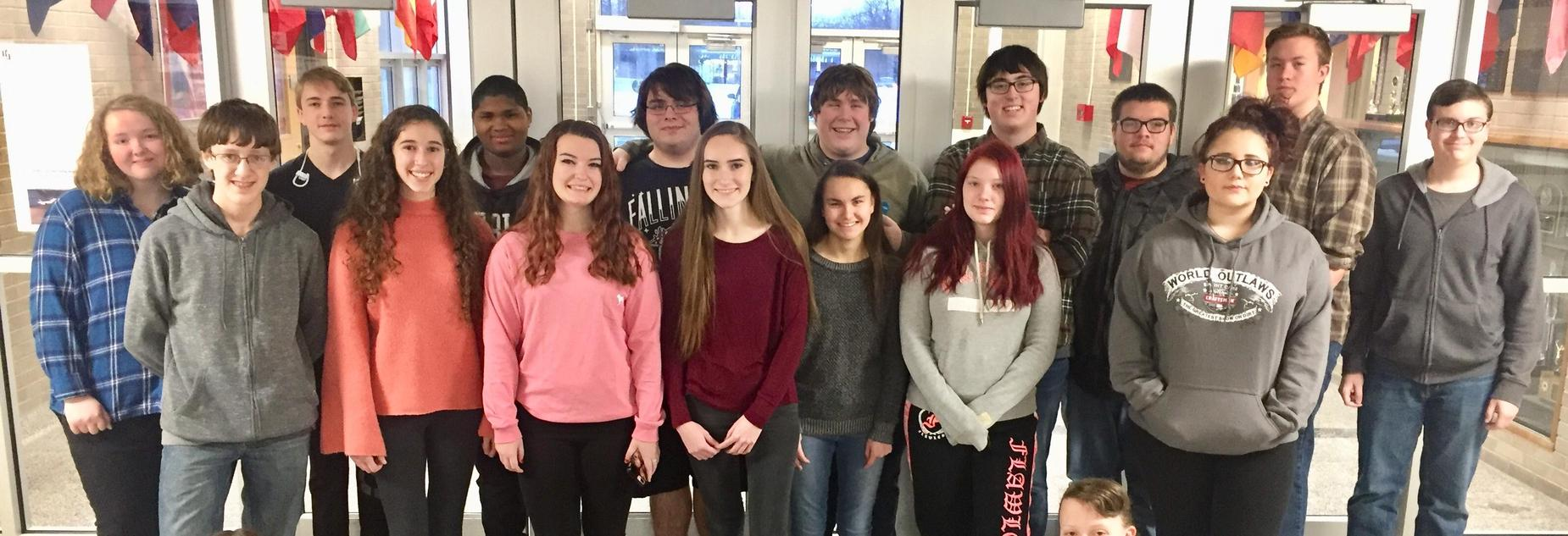 Red Jacket HS Students of the Month of Jan. 2018