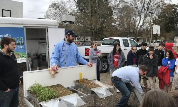 Soil Health Rainfall Simulator