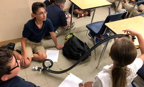 testing potential and kinetic energy