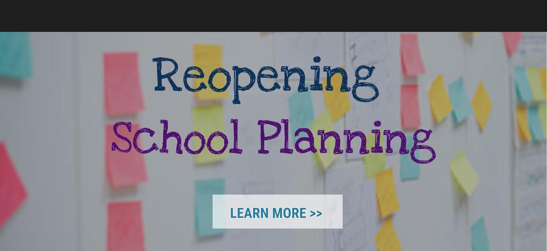 Image, Reopening school planning