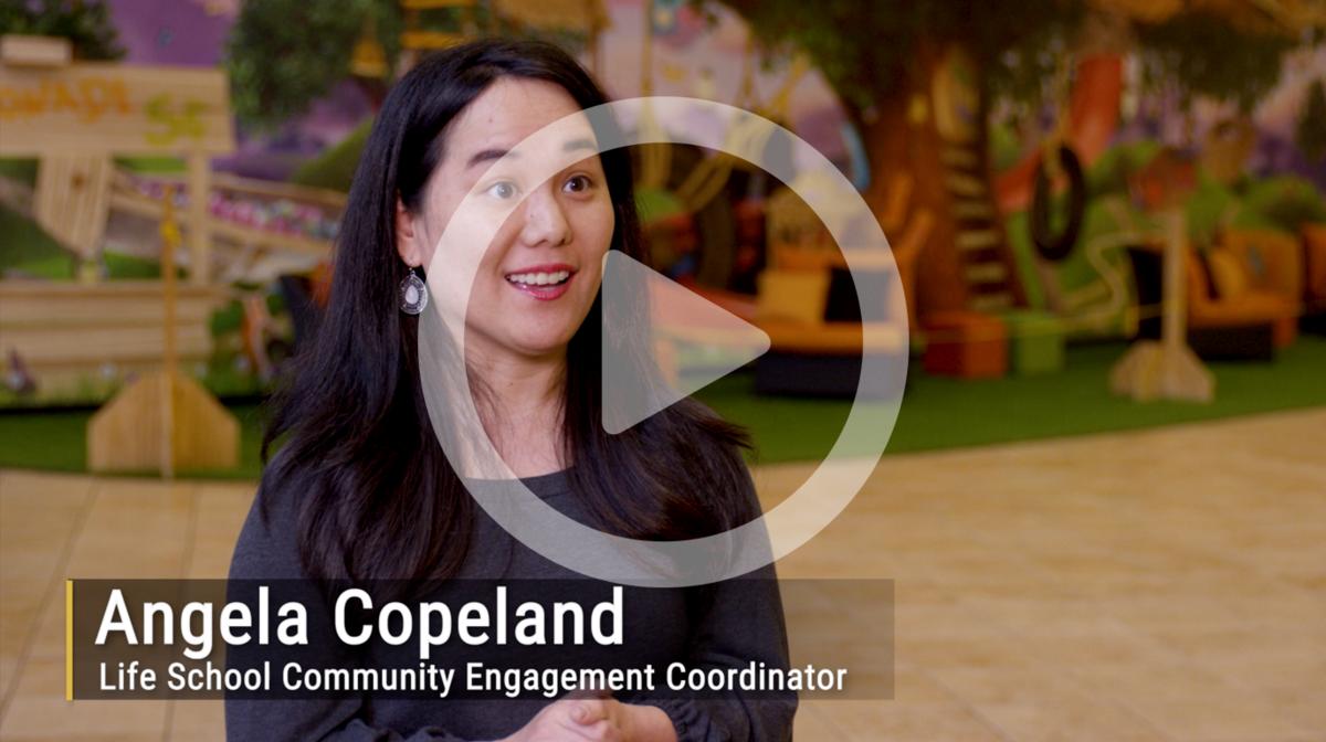 Angela Copeland shares her Life School experinces.