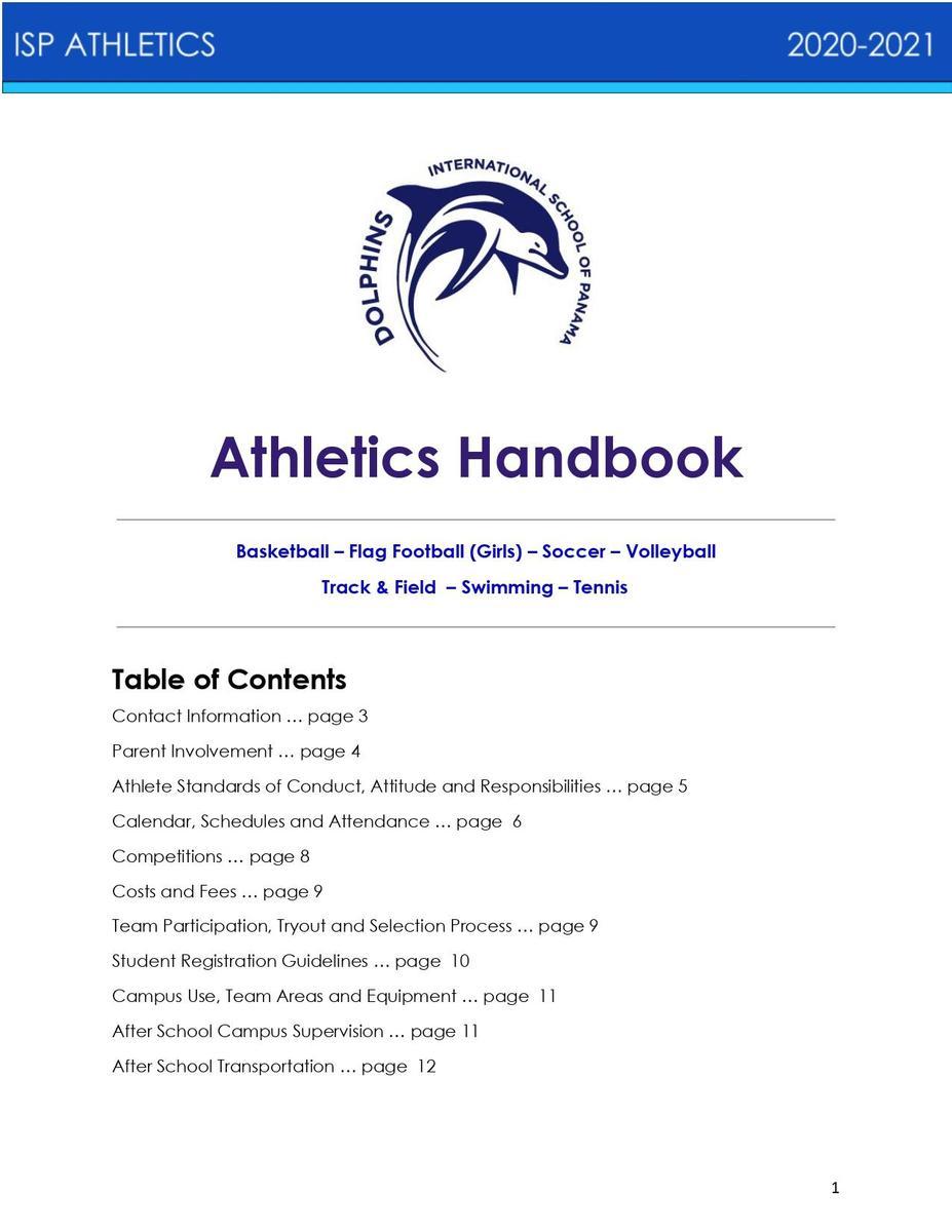 ISP Handbook