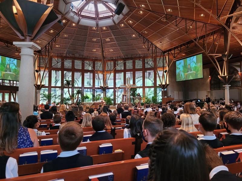 School Mass on the Feast of St. Gregory the Great Featured Photo