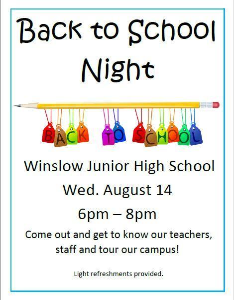 Back to School Night Featured Photo