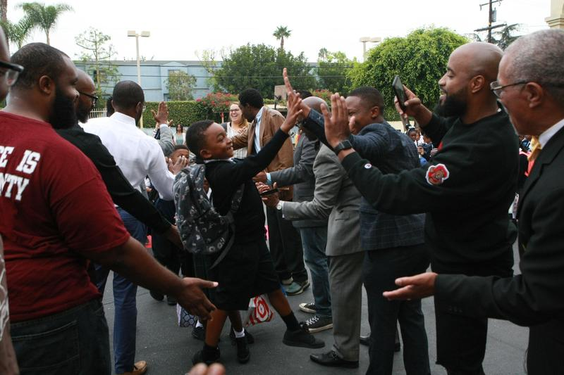Alpha Phi Alpha Fraternity Welcome Wilder's Students Back to School Featured Photo
