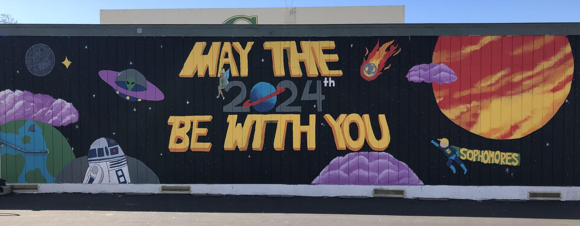Sophomore mural