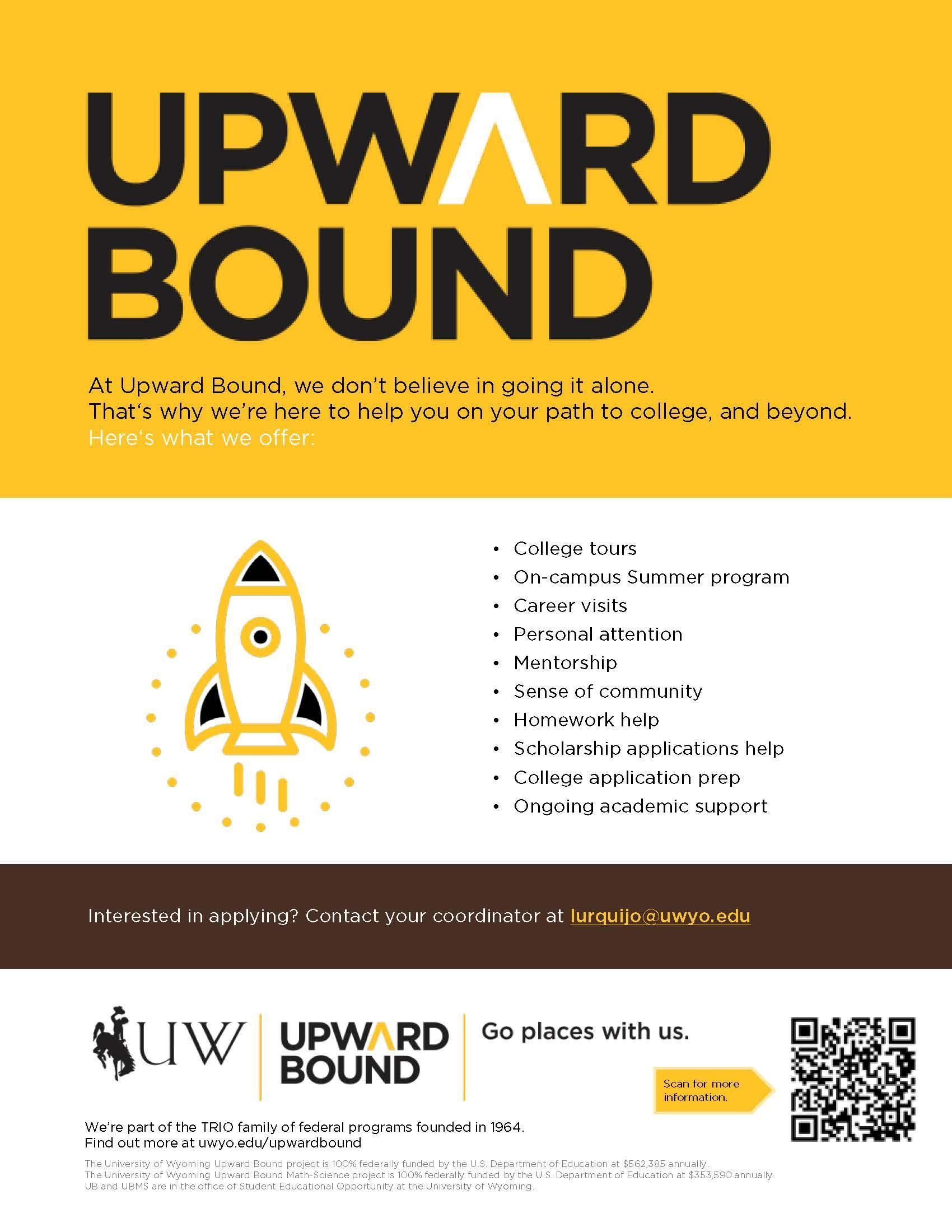 UW Upward Bound Flyer