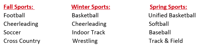 Sports Offered