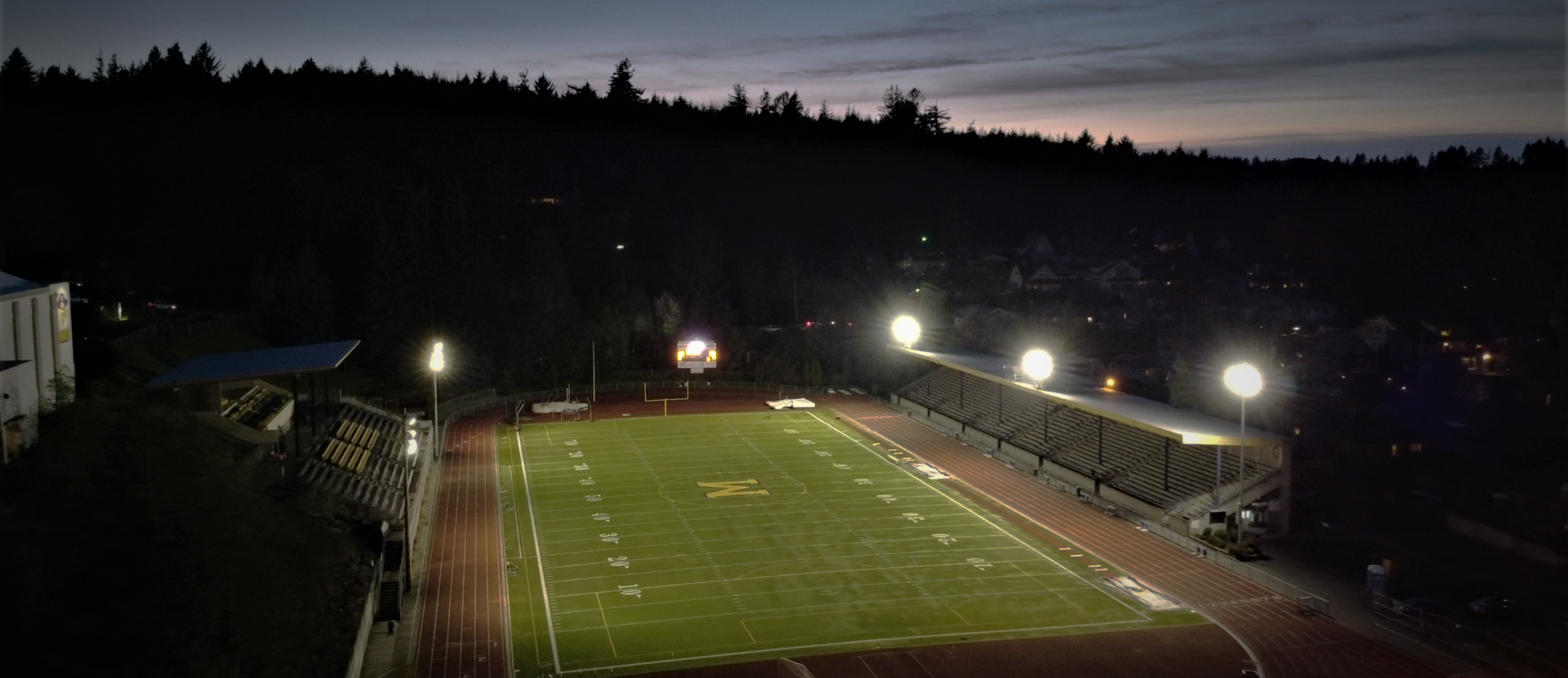 Friday Night Lights - Stadium at Night