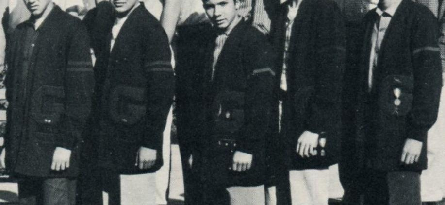 Letterman sweaters 1954