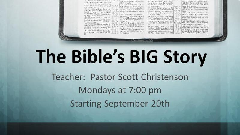 The Bible's BIG Story Bible Study Featured Photo