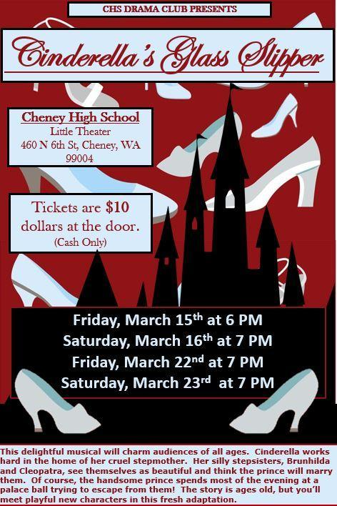 Cinderella's Glass Slipper presented by the CHS Drama Club Thumbnail Image