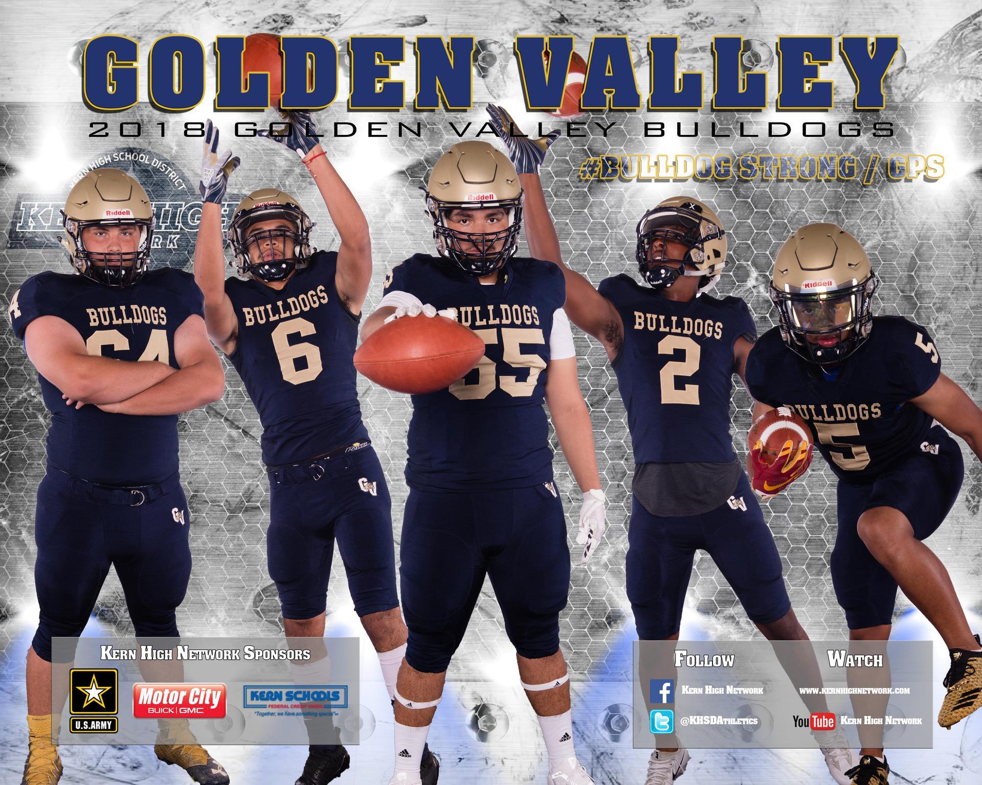 Football Athletic Teams Golden Valley High School