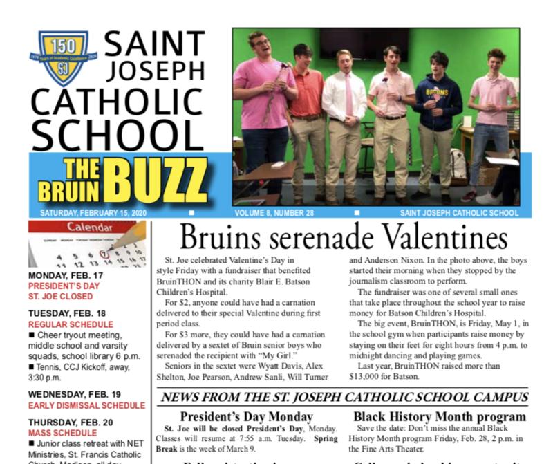 THE BRUIN BUZZ: SATURDAY, FEB. 15 Featured Photo