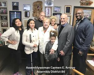 Assemblywoman Carmen E. Arroyo Assembly District 84